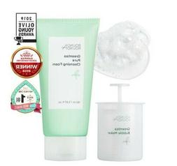 Green Tea PURE CLEANSING FOAM 150ML+BUBBLE MAKER / KOREA BE