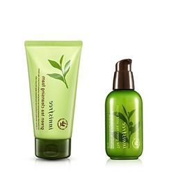 Innisfree The Green Tea Seed Serum + Cleansing Foam