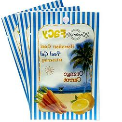 Hawaiian Cool Orange & Carrot Peel Gel, Whitening, Facial tr
