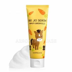 Horse Oil 100 Cleansing Foam 120ml
