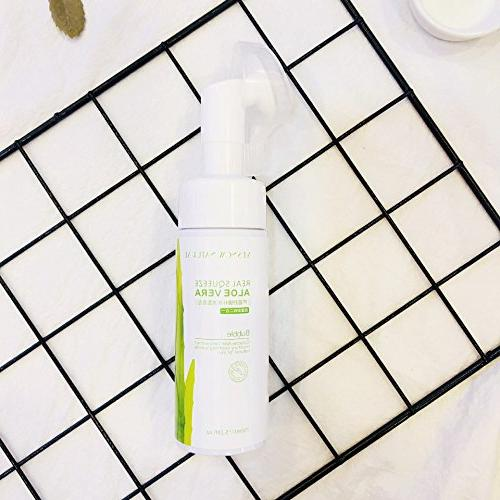 1 PC Aloe Vera Micellar Cleansing foam and Makeup Remover fo