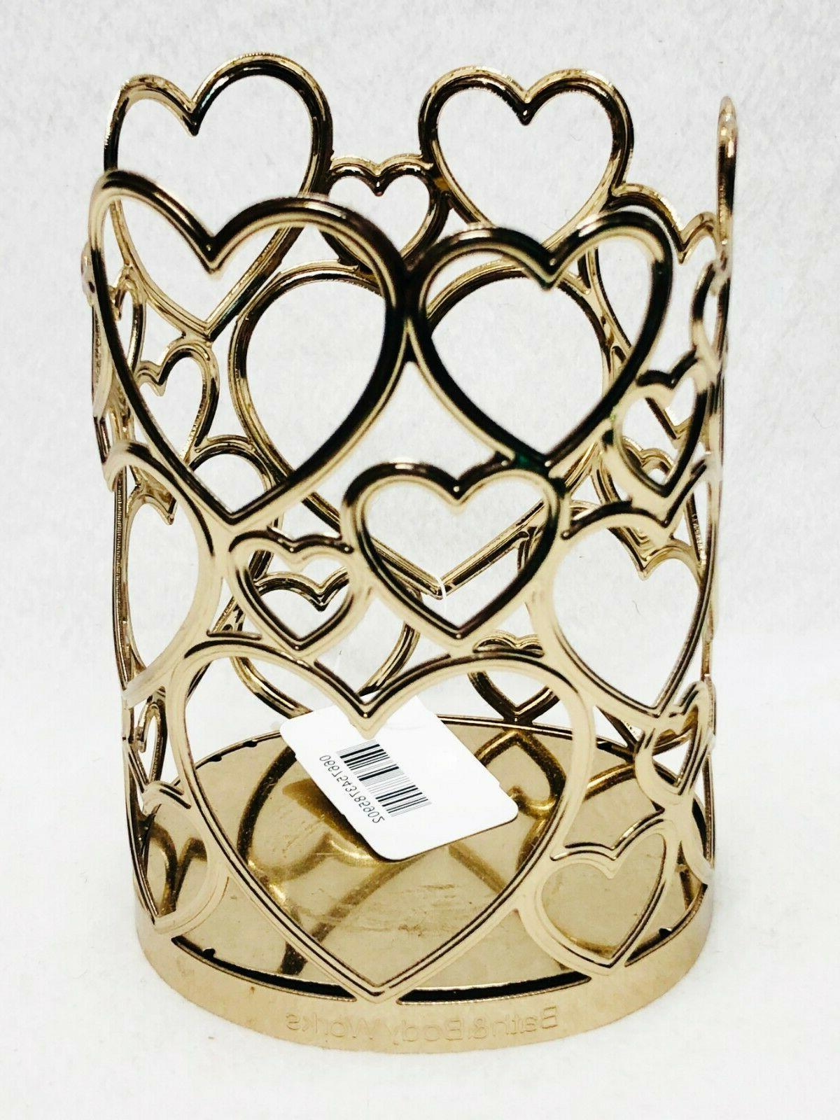 1 & Works GOLD HEARTS Deep Sleeve Love