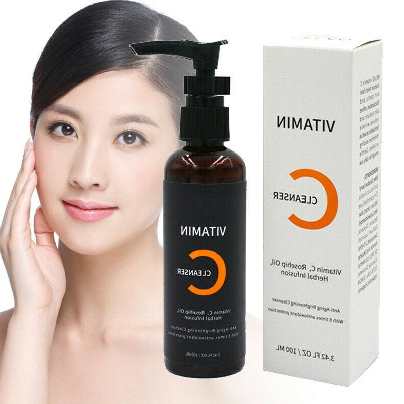 100ml vitamin c daily gentle facial cleanser