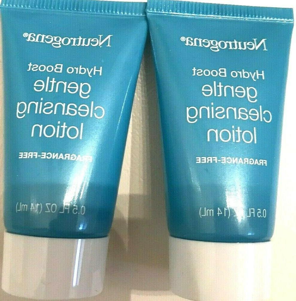 2 Neutrogena Gentle oz. & 2 Cerave Foaming Clea