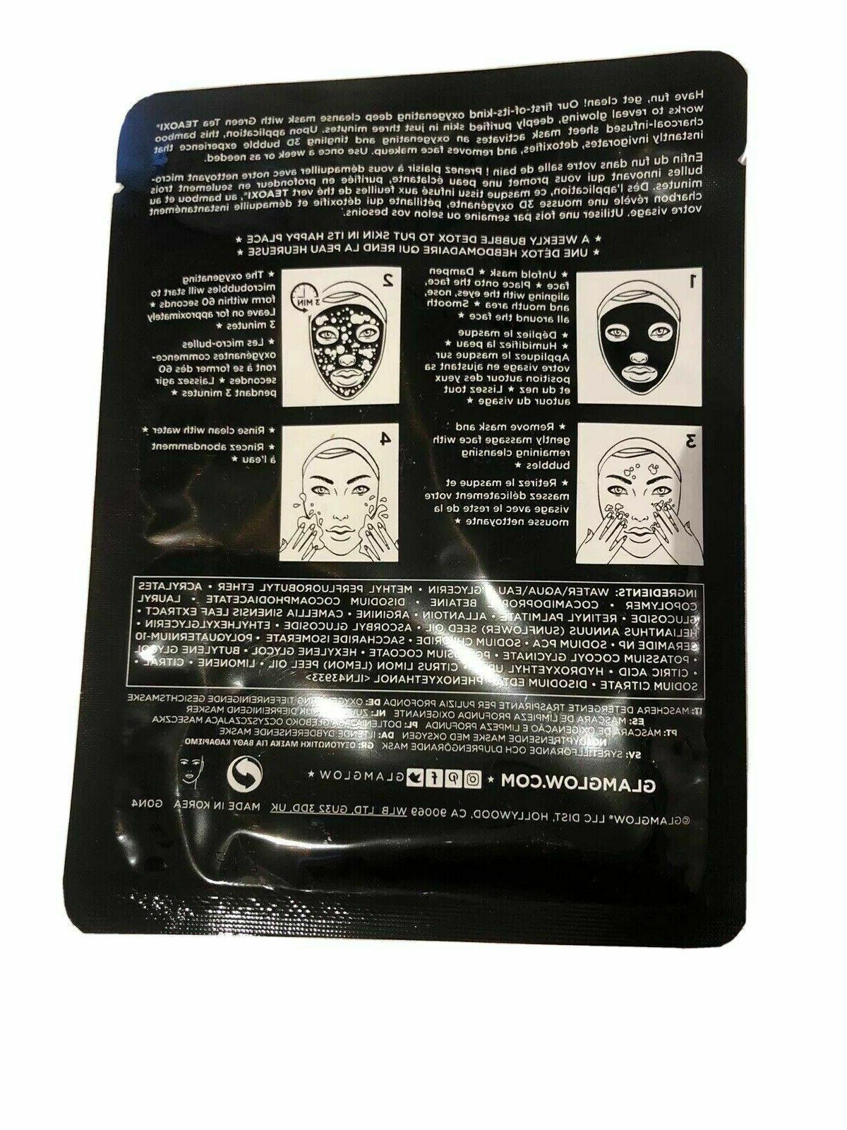 2-Pack Glamglow Bubblesheet Deep Cleanse NEW