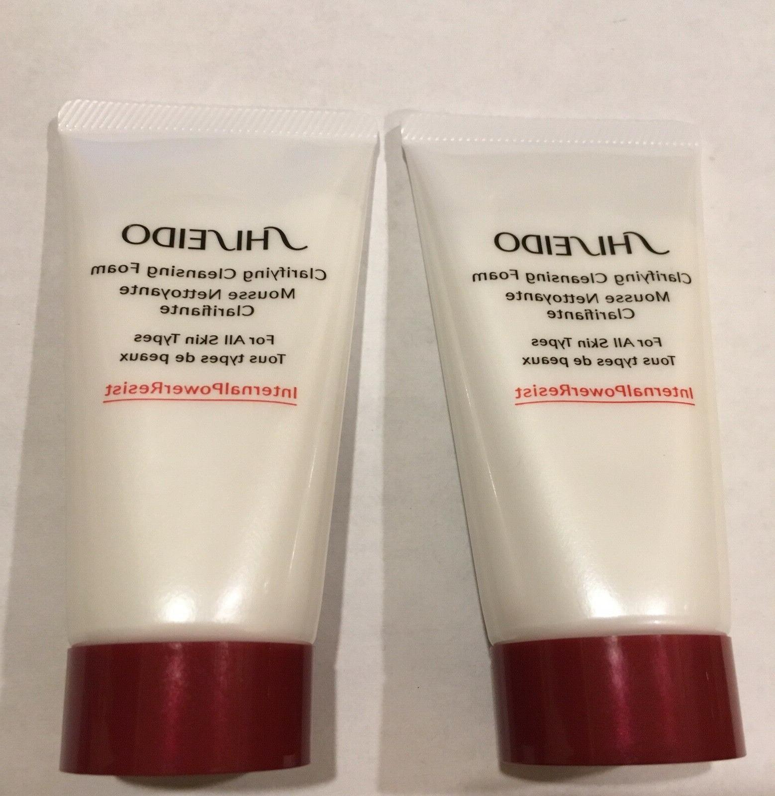 2 x clarifying cleansing foam for all