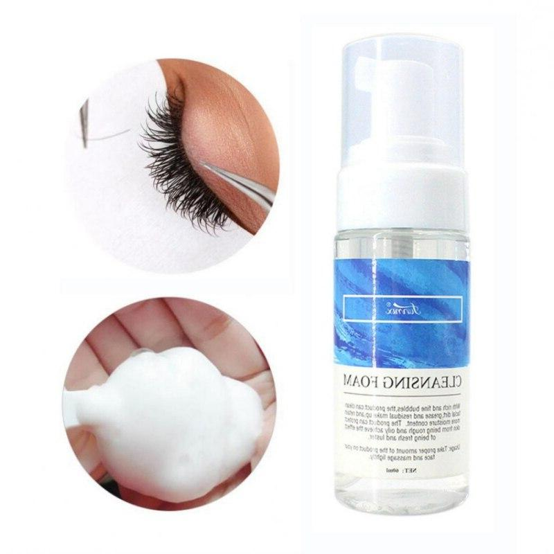 2019 Non-Irritating Lash Eyelash <font><b>Cleanser</b></font> <font><b>Foam</b></font> Makeup 60ml Long