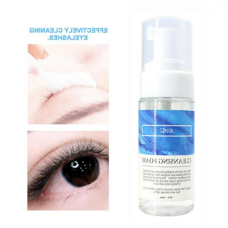 2019 Non-Irritating Makeup Eyelash <font><b>Cleanser</b></font> <font><b>Foam</b></font> Long