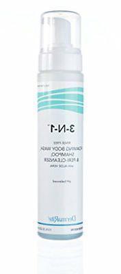 Dermarite 3-n-1 Cleansing Foam, No-Rinse, Latex-Free 7-3/4 o