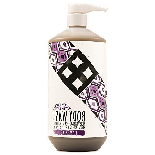 Alaffia - Everyday Shea Body Wash, Naturally Helps Moisturiz