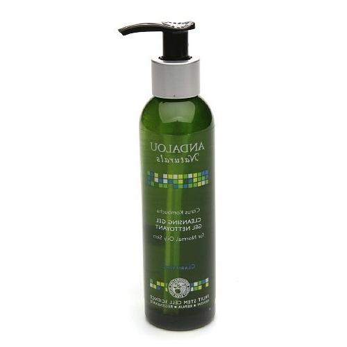 Andalou Naturals Cleansing Gel for Normal to Oily Skin, Citr
