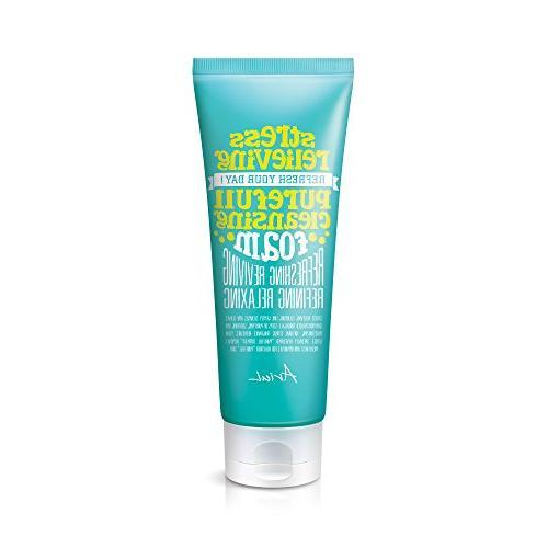 Ariul Natural Facial Face Wash Cleanser Cleansing Foam, Stre