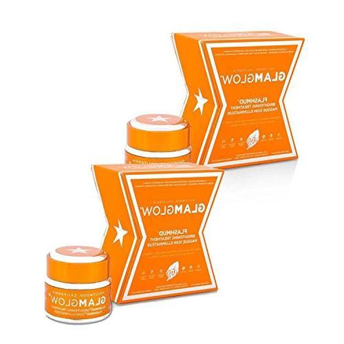Bundle - 2 Items : Glamglow Flashmud Brightening Treatment,