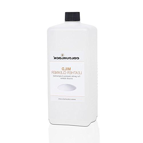 COLOURLOCK Mild Leather Cleaner for cleaning car seats, furn