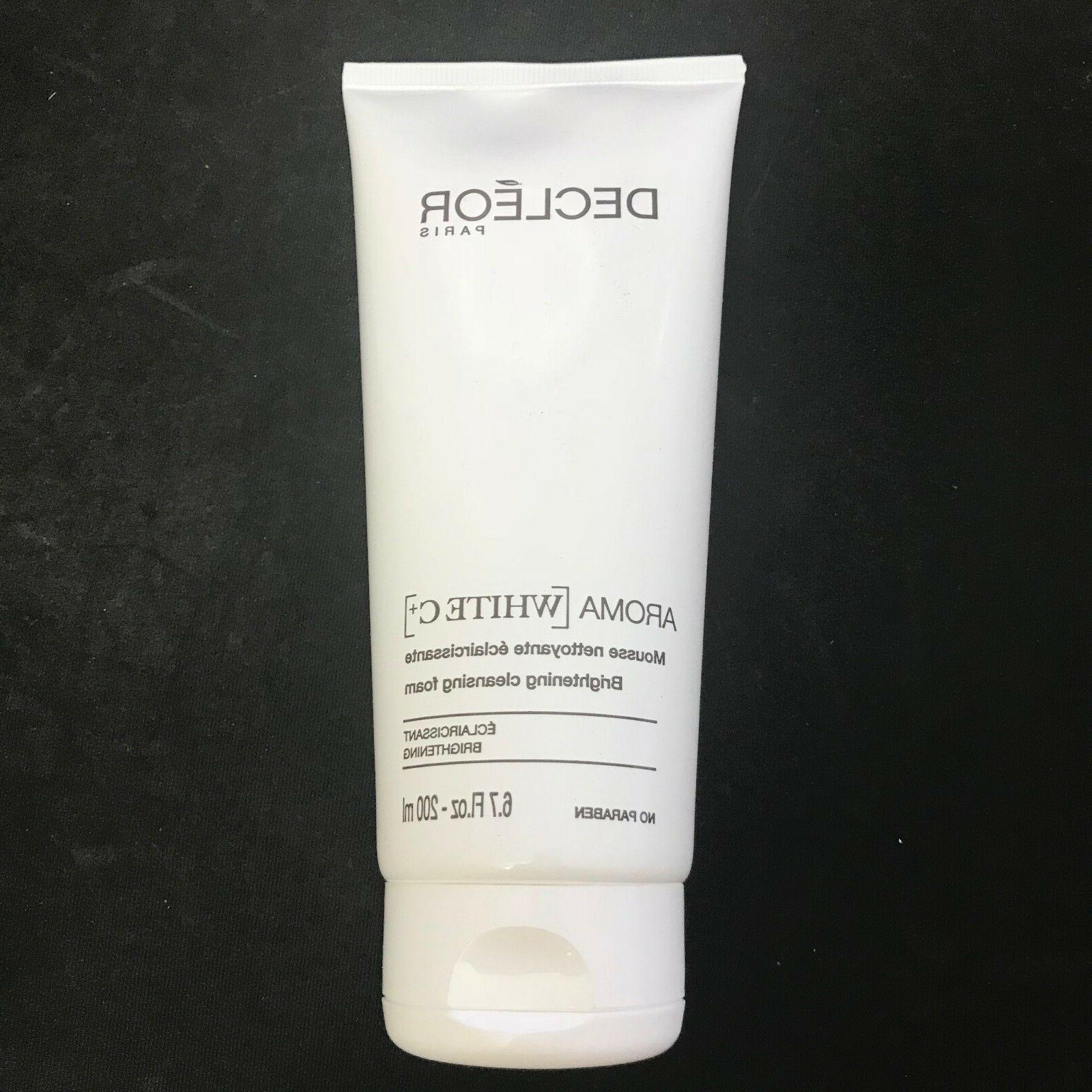 Decleor Aroma White C+ Brightening Cleansing Foam 200ml Clea