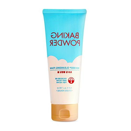 Etude House Baking Powder B.B Deep Cleansing Foam, 160 ml, 5