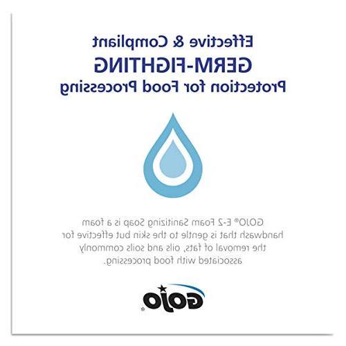 GOJO Foam Soap, Fragrance 2000 mL Sanitizing Refill GOJO FMX-20 Dispenser -