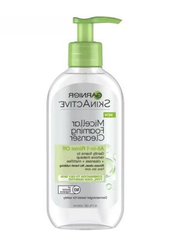 Garnier SkinActive Micellar Foaming Face Wash for Oily Skin,