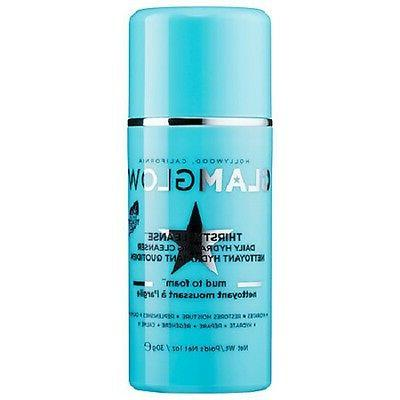 GlamGlow LOT OF 3 ThirstyCleanse Daily Hydrating Cleanser Mu
