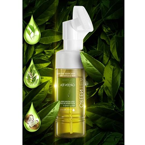 Green Tea Micellar Cleansing foam and Makeup Remover for Sen