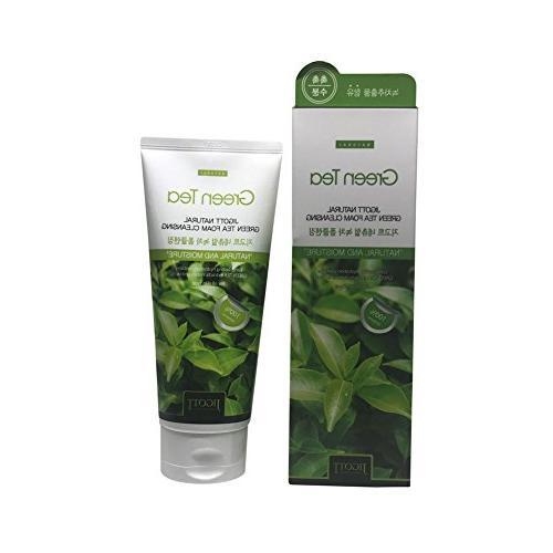 Jigott Natural Green Tea Foam Cleansing + Nail File