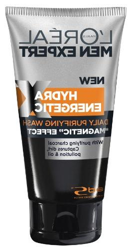 L'Oreal Men Expert Hydra Energetic Black Charcoal Wash, 5 Ou