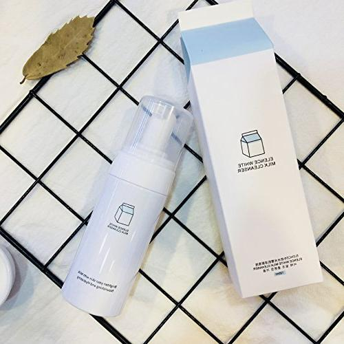 Milk Micellar Cleansing foam and Makeup Remover for Sensitiv