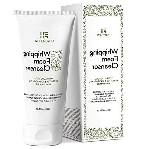 Natural Face Wash - Foaming Facial Cleanser - Coconut Based