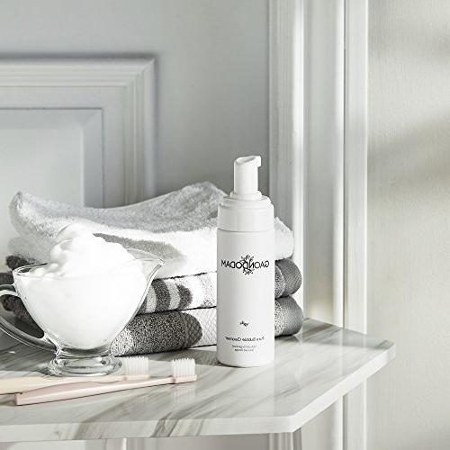 PURE BUBBLE FOAM CLEANSER, Sebum with Natural Gel Face Scrub, Properties help Fine Lines & All
