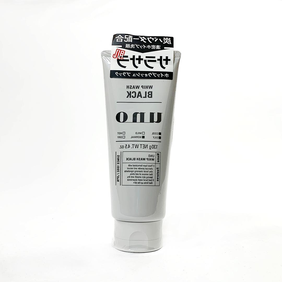 SHISEIDO UNO WHIP WASH CHARCOAL FACE WASH  130 G