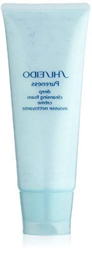 Shiseido Pureness Deep Cleansing Foam,3.6 oz / 100 ml
