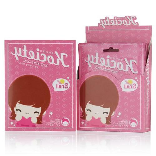 Snail Facial Tissue Mask, Firming, Smoothing and Brightning,