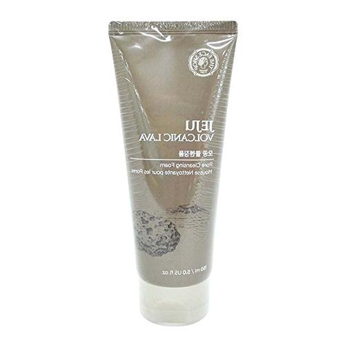 The Face Shop Jeju Volcanic Lava Pore Cleansing Foam For Fac
