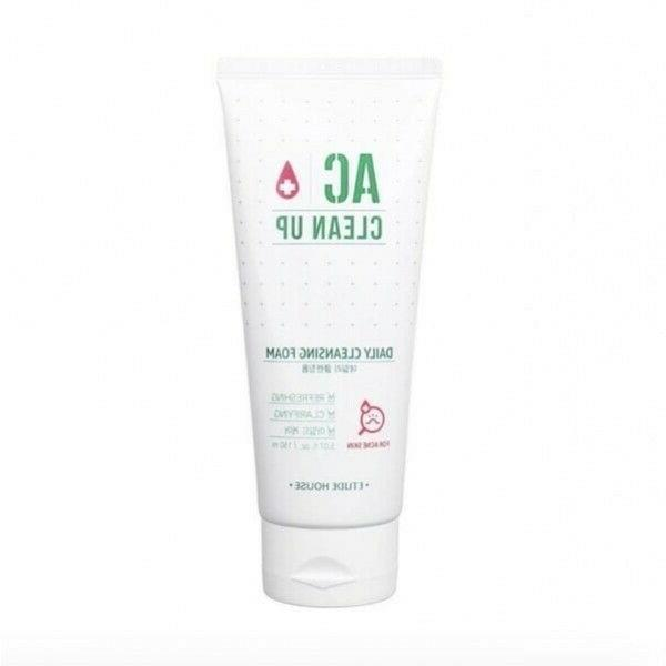 ac clean up daily cleansing foam toner