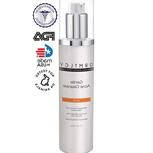 acne face and body wash with salicylic
