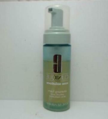 acne solutions cleansing foam salicylic acid acne