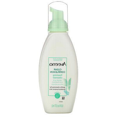 active clear complexion foaming cleanser