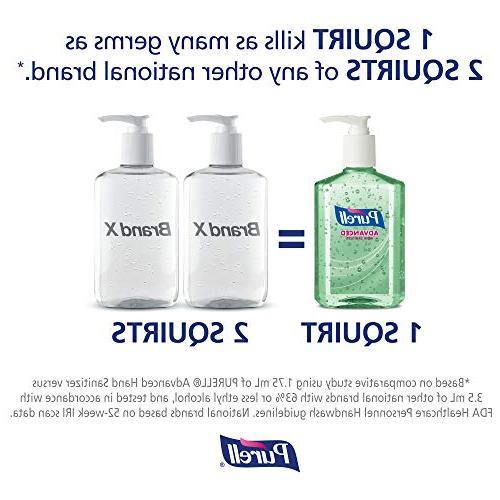 PURELL Advanced Hand Sanitizer Gel, Refreshing fl Hand Sanitizer Counter Pump -