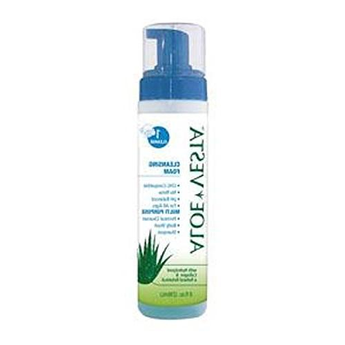 Alimed Aloe Vesta Cleansing Foam, No-rinse 8 Oz Bottle