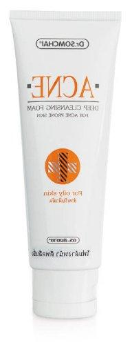 Dr. Somchai Anti-acne Deep Cleansing Facial Foam for Oily-co