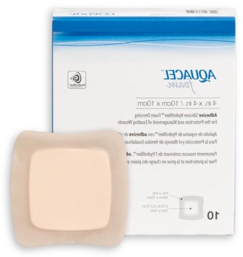 aquacel adhesive foam dressing
