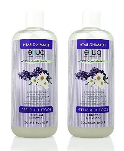 aromatherapy lavender chamomile bubble bath