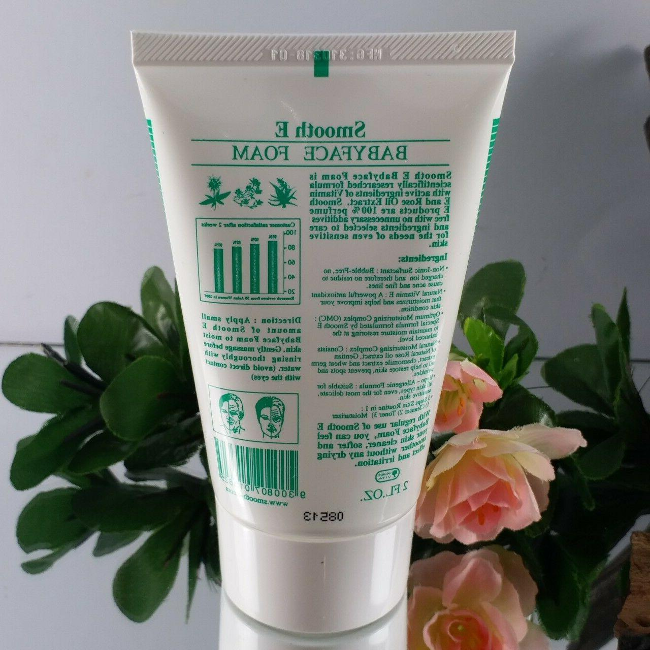 Smooth E Foam Non-ionic Facial Clean face