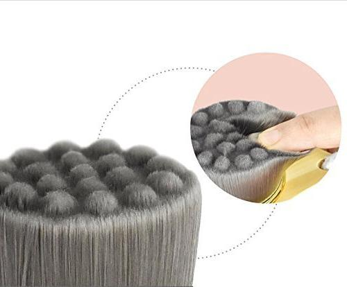Face Soft Cleanser Facial Care Tool Brush Handle