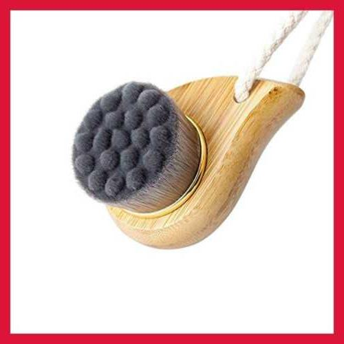 bamboo charcoal fiber face brushes