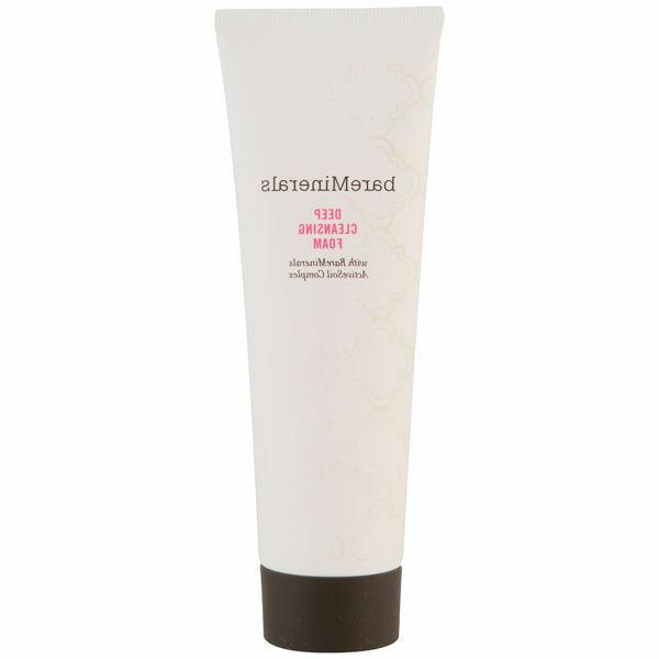 bare minerals deep cleansing foam 3 pack