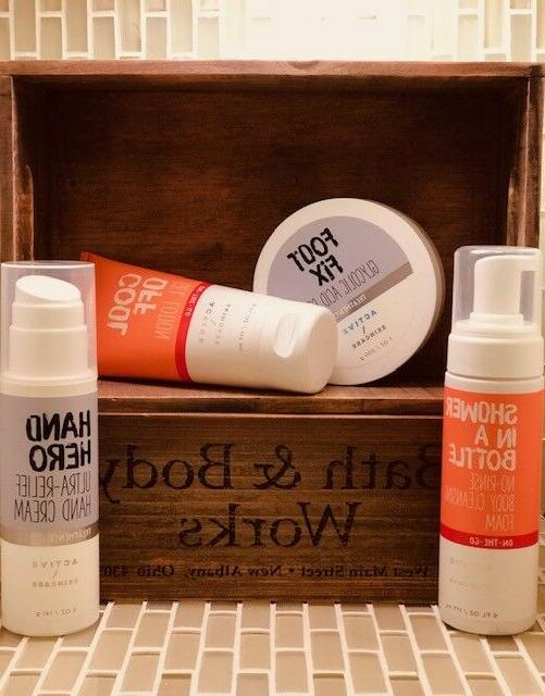 bath and body works active skincare you