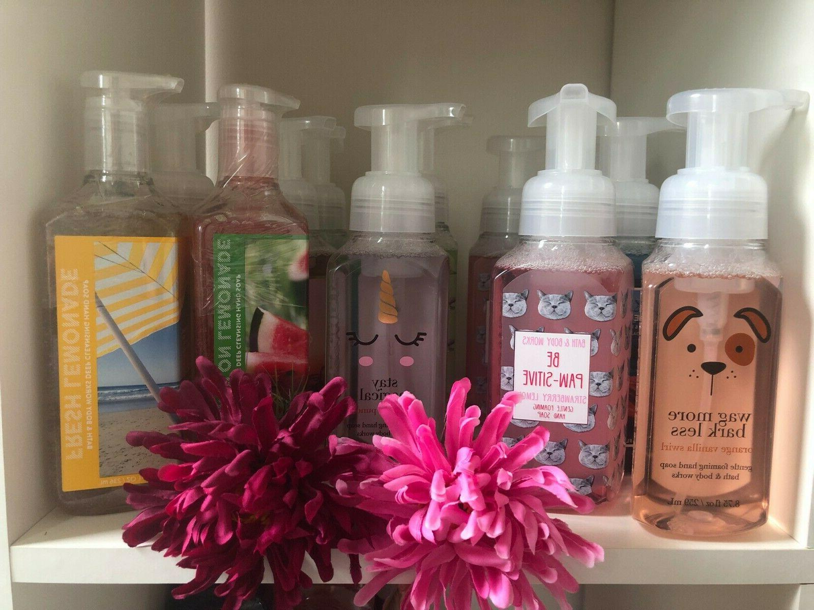 bath and body works hand soap variety