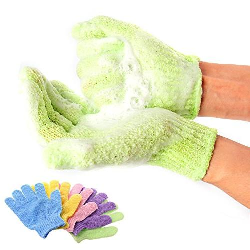 bath exfoliating glove peeling