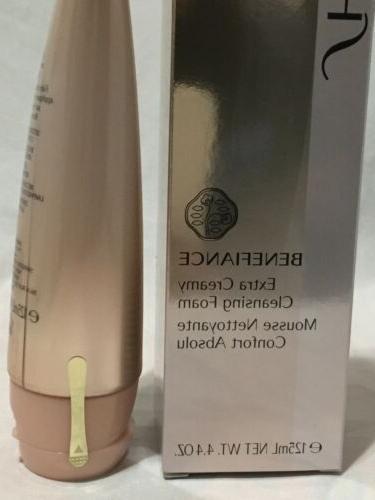Shiseido Benefiance Creamy Cleansing Foam 4.4oz 125 Sealed